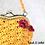 Thumbnail: Vintage Crochet Handbag or Purse