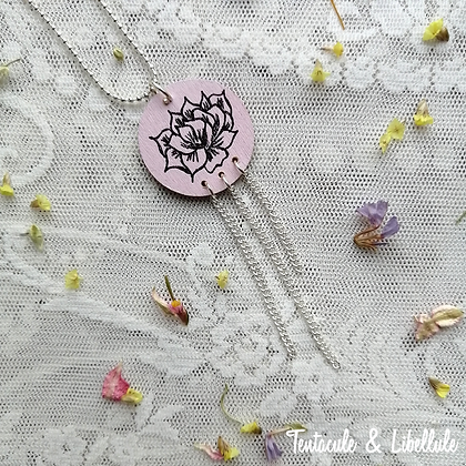 Wooden Painted Necklace