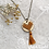 Thumbnail: Wooden Heart Necklace