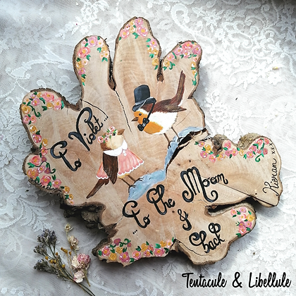 Wood Painted Ornament