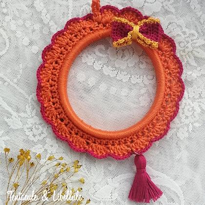 Bi-colors Crochet Frame