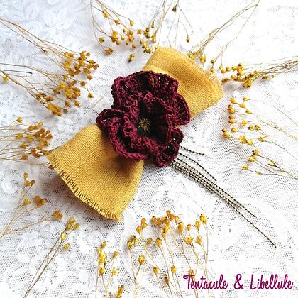 Big Crochet Hair clip