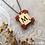Thumbnail: Scrabble Crochet necklace