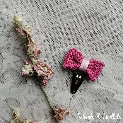 Crochet Hairclip