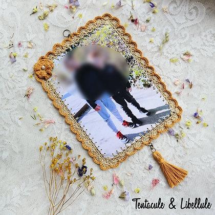 Crochet Photo Framed