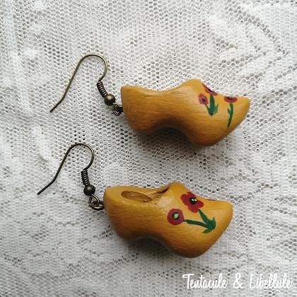 Mustard Clogs Earrings