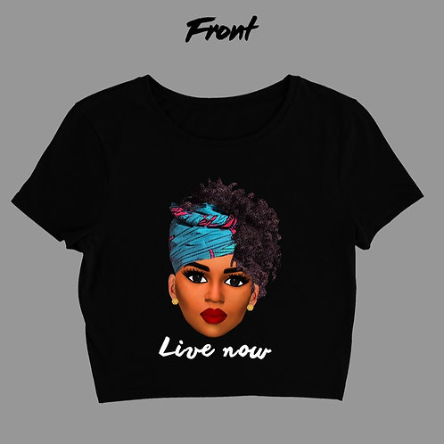 Live Now Graphic T-Shirt