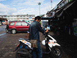 chanthaburi scooter for rent