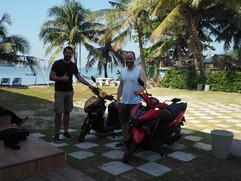 rent a bike in chanthaburi