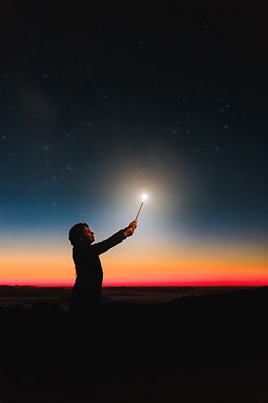 person-holding-roman-candle-at-night-799