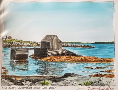 Blue Rocks, Lunenburg, Nova Scotia