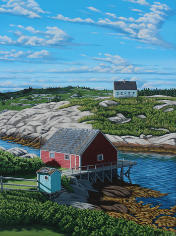 Little Blue Shed, Peggy's Cove
