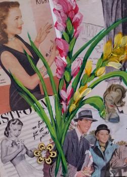 Vintage Gladiolus #1