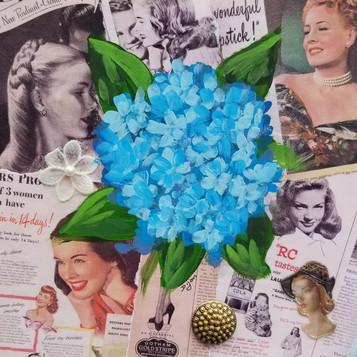 Vintage Hydrangea #3