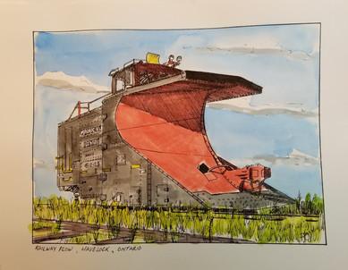 Railway Plow, Havelock, Ontario
