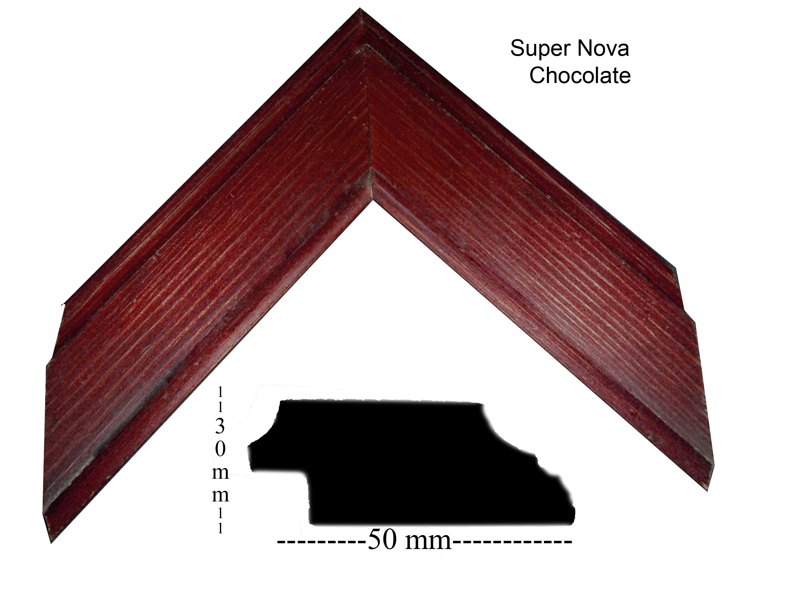 Mold super nova chocolate