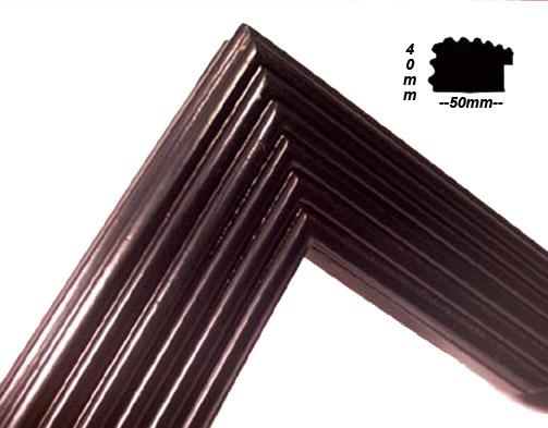Mold 5x4 estriada