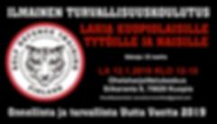 Ilmainen turvallisuuskoulutus 12.1.2019.