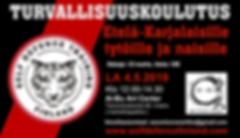 Turvallisuuskoulutus AI-BU center 4.5.19