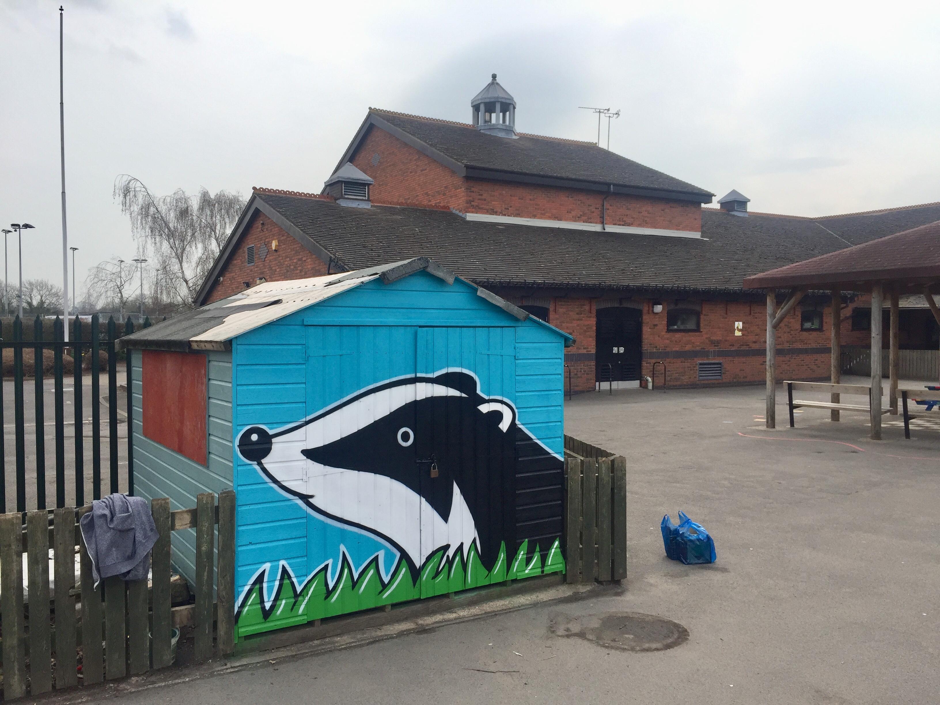 Alex Rubes at Badgerbrook School