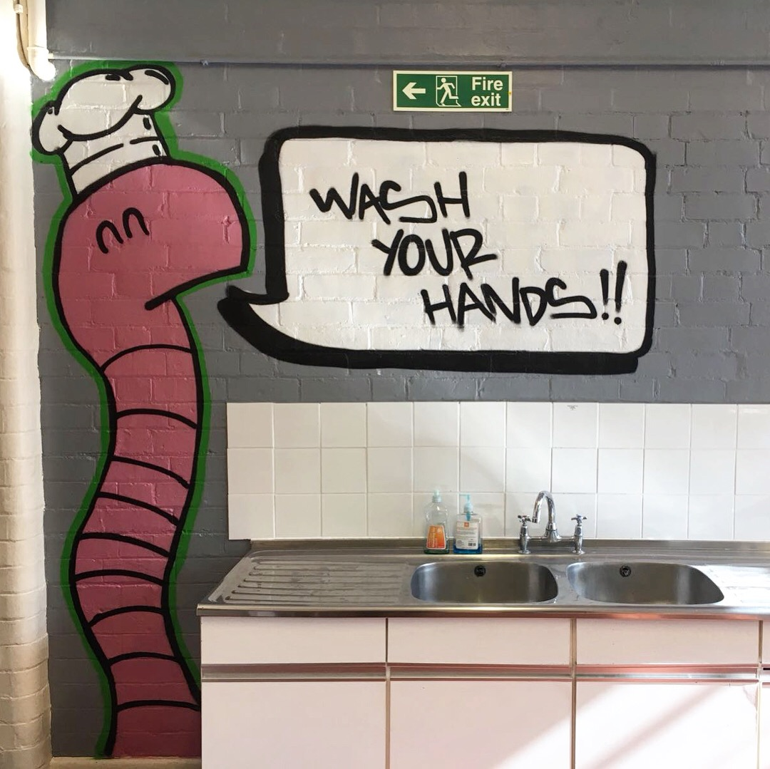 Worm Guy Hommage, Leicester