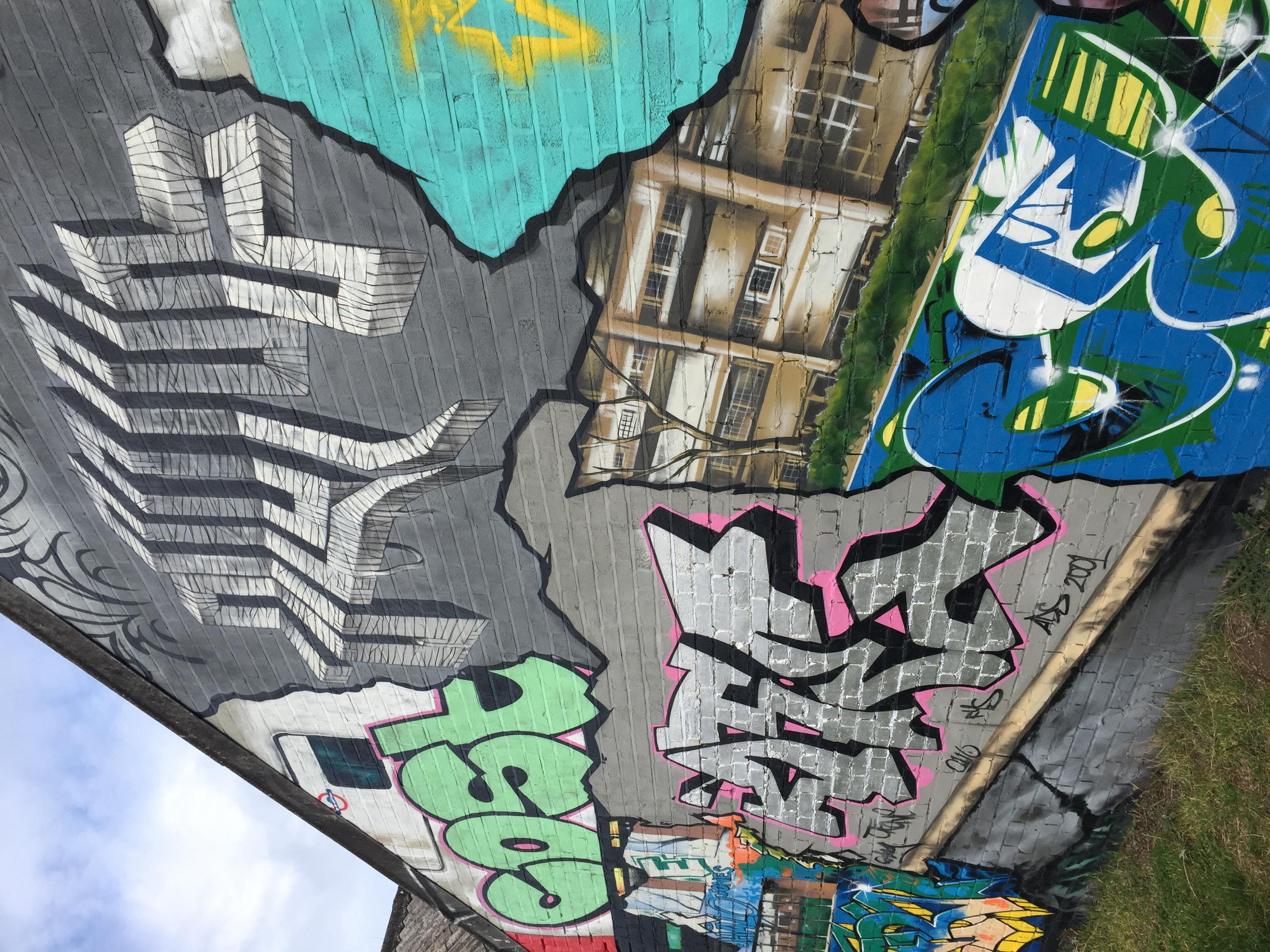 Retrospective Mural, Leicester
