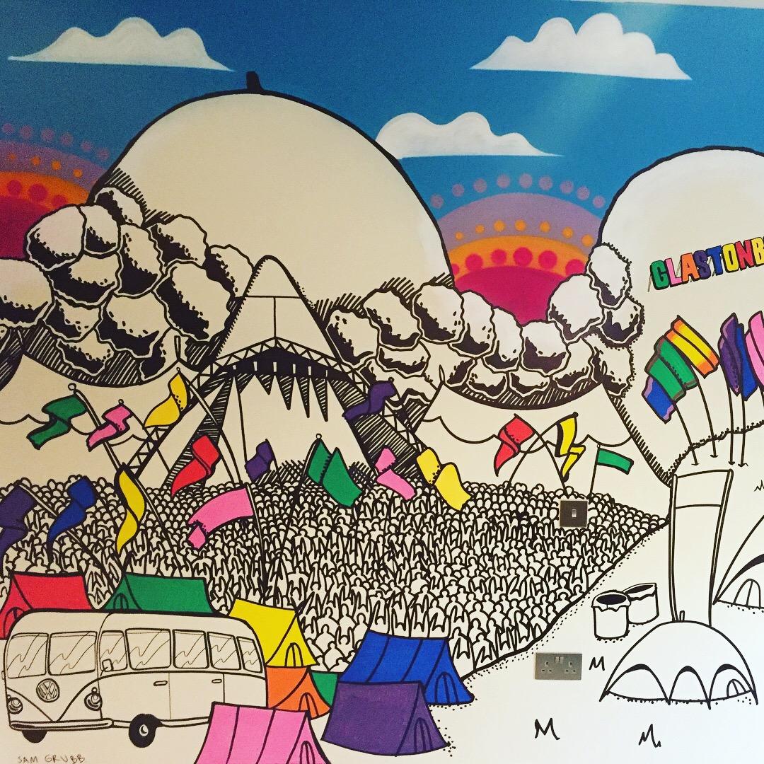 Glastonbury Theme by Sam Grubb