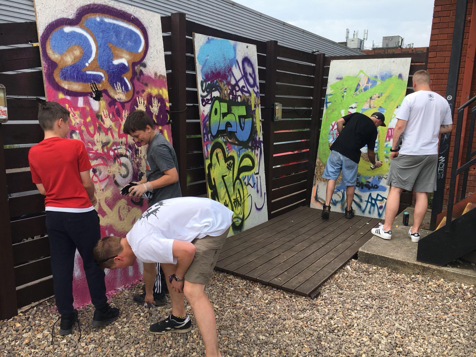 Graffiti Werkshop w/ 2Funky