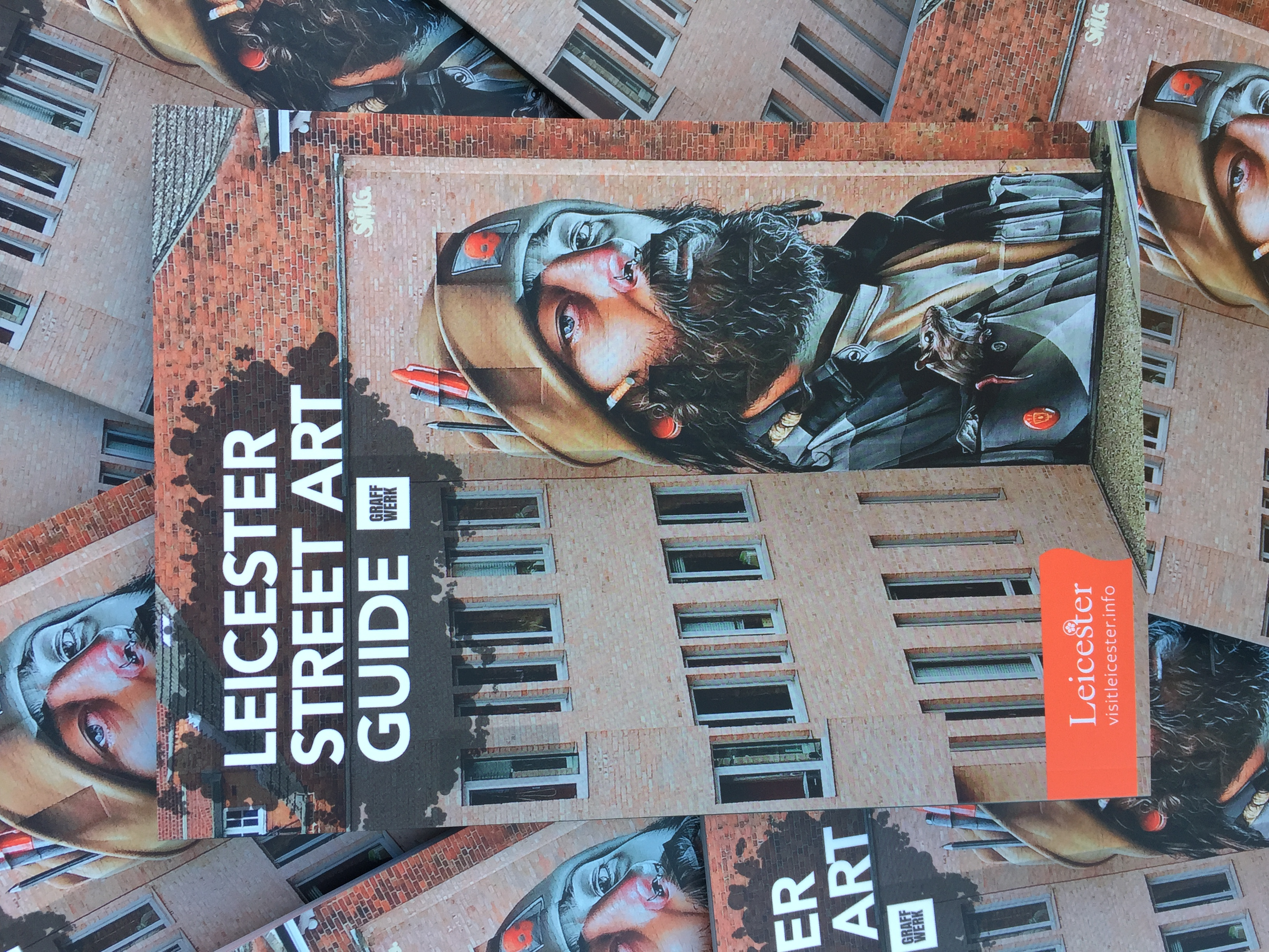 Leicester Street Art Guide