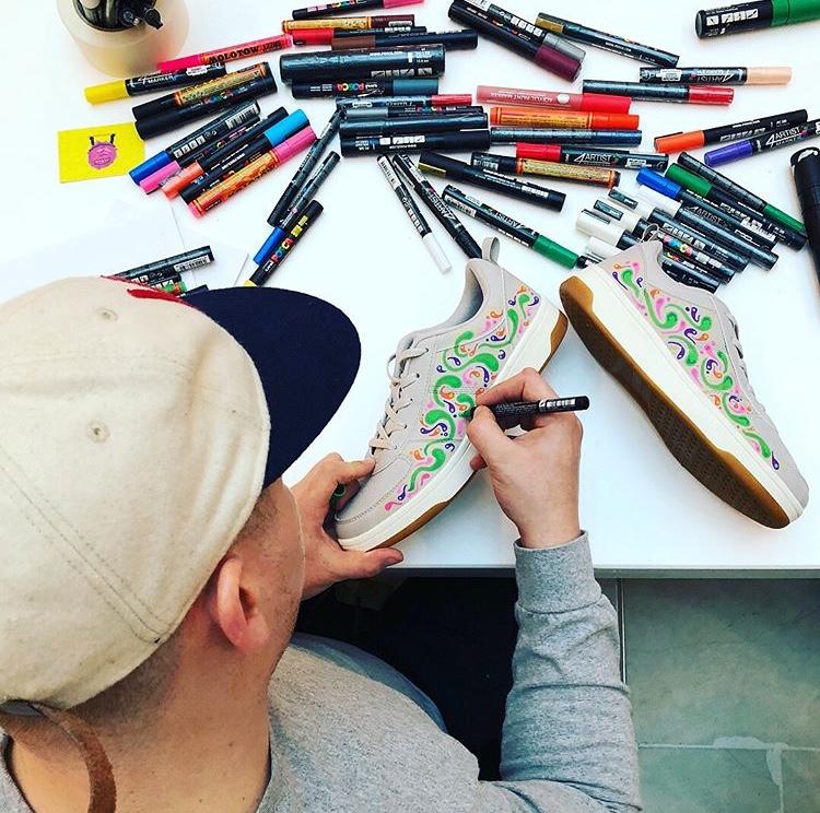 Sam Grubb - Sneaker Illustration