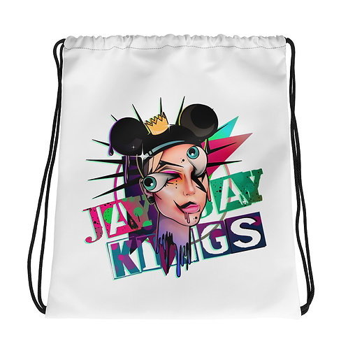 JayJay Kings Drawstring bag