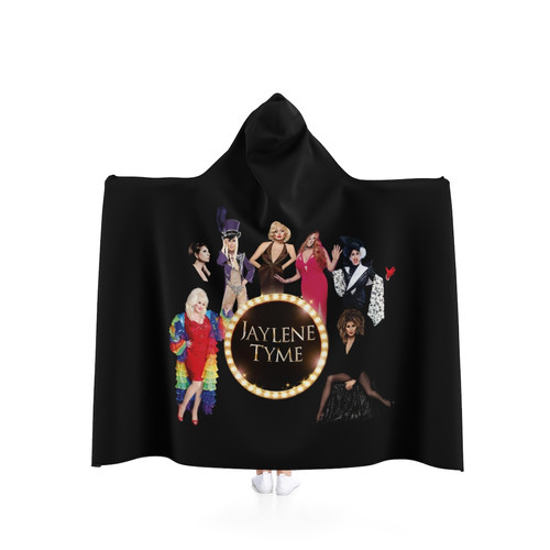 Jaylene Tyme Hooded Blanket