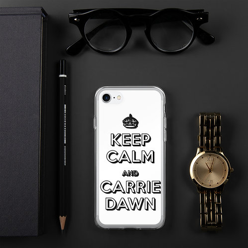 Carrie Dawn iPhone Case
