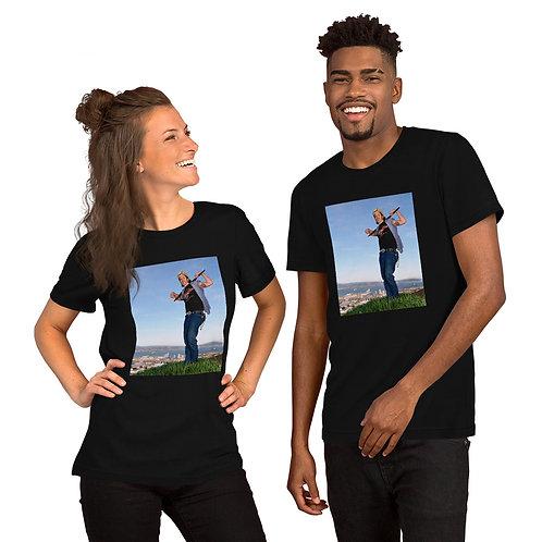 Del LaGrace Volcano - KING OF THE HILL - Short-Sleeve Unisex T-Shirt