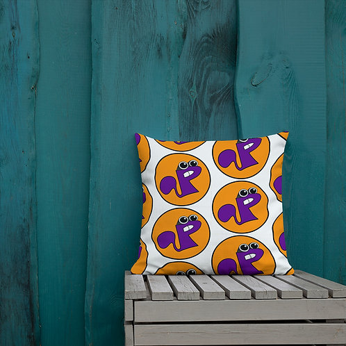 Toe B - Plucky The Flying Squirrel - Premium Pillow