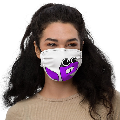 Toe B - Plucky The Flying Squirrel - Premium face mask