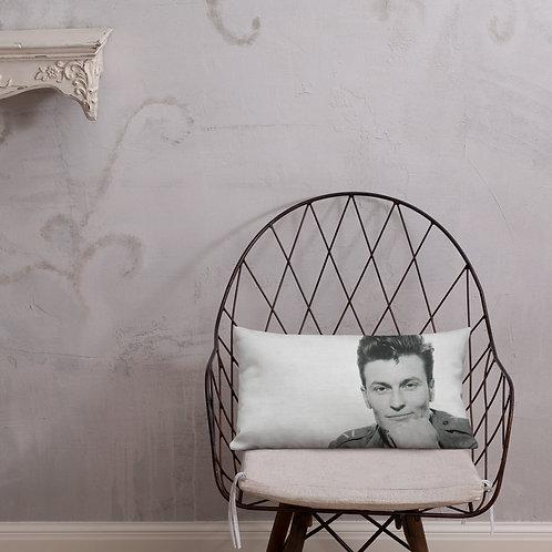 Del LaGrace Volcano - GI Johnny - Premium Pillow