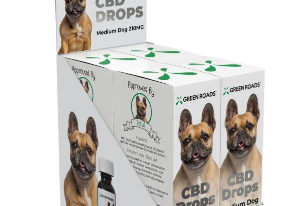 Medium Dog 210 mg. drops