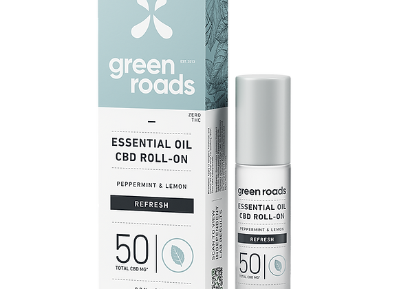 50 mg Refresh Essential Oil Roll-On