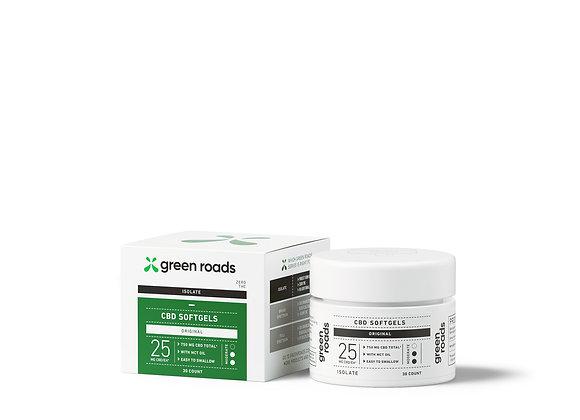 25 mg CBD Softgels