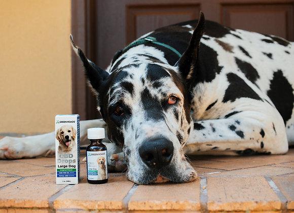 Large Dog 600 mg. drops