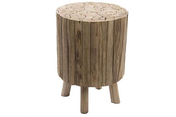 Table d'appoint rondins de bois (Précommande)