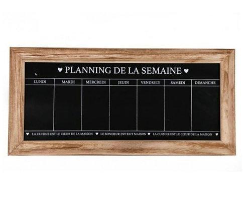 "Planner mural ""planning de la semaine"""
