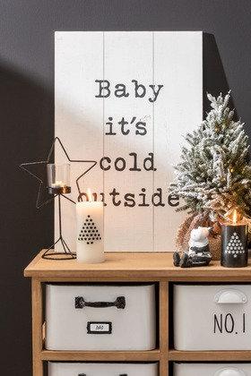 """Planche en bois décorative """"Coldy"""""""