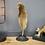 Thumbnail: Grande plume doré décorative