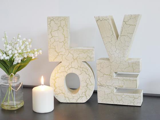 LOVE décoratif