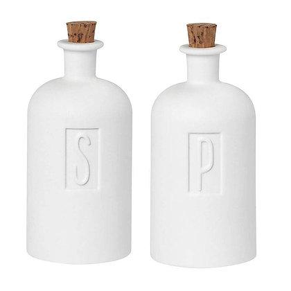 """Salière et poivrière """"S&P"""""""