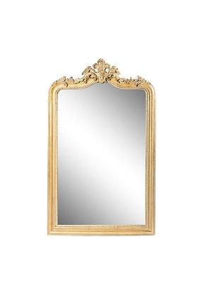 """Miroir doré à moulures """"Antique"""" (précommande)"""