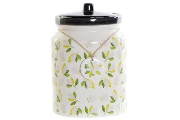 Pot à biscuits magnolias