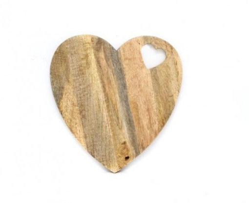 """Grande planche à découper """"Heart"""""""